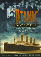 Titanic Voices by  Donald Hyslop, hardback