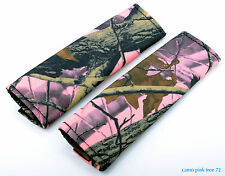 cc Camouflage seat belt covers choose from 18 colors