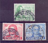 Berlin Briefmarken Goethe 1949 - MiNr 61/63 gestempelt - Michel 180,00 € (217)