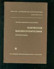 Elektrische Nachrichtentechnik Grundlagen 1954