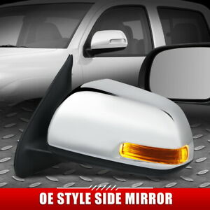 FOR 12-15 TOYOTA TACOMA OE STYLE POWERED+TURN SIGNAL DRIVER LEFT SIDE MIRROR