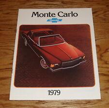 Original 1979 Chevrolet Monte Carlo Sales Brochure 79 Chevy Coupe Landau