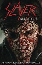 Slayer Repentless Hardcover GN Jon Schnepp Metalocalypse Tom Araya New HC NM