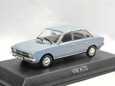 Norev 840097 1970 Volkswagen VW K70 hellblau metallic Modellauto 1/43