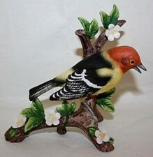 Danbury Mint Western Tanager From 12 Songbird Collection Figurines Porcelain