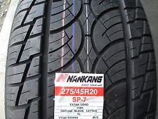 4 New 275/45R20 Nankang SP-7 Tires 2754520 275 45 20 R20 45R