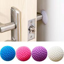 4 x Wall Protector Self Adhesive Rubber Stop Door Handle Bumper Guard Stopper
