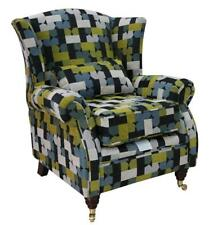 Ashley Wing Chair Fireside High Back Armchair Malibu Lime Green