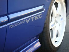 99-00 CIVIC SI DOHC VTEC DECAL Sticker jdm em1 ek4 ek9 sir b16a hatchback coupe