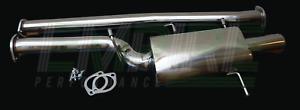 Catback Exhaust for Subaru WRX & STI (2001-2007) GD - Oval-muffler Catback Exhau