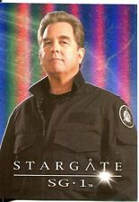 Stargate SG1 Season 9 Cast Posters Chase Card CP6