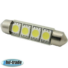 SMD LED Soffitte Lampe C10W 42mm 24V Volt LKW Xenon weiss Innenraum Beleuchtung