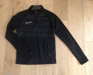BOYS NIKE BOYS JACKET TRACKSUIT TOP *8-10y Sportswear Logo Black AGE 8-10 YEARS