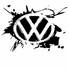 Camper VW Extra Large 57cm x 40cm logo Decal Stickers X2 Transporter T5 T4