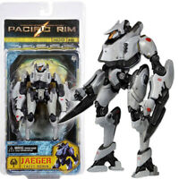 "NECA Pacific Rim Tacit Ronin Jaeger 7"" Action Figure Deluxe White Robot Collect"