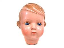 "Vintage celluloid head, ""Inge"", size 30, turtle mark, celluloid doll, Schildkröt"