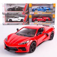 MotorMax 2020 Chevrolet Corvette C8 1:24 Scale Diecast Model Car Motor Max 79360