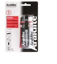 ARALDITE COLLE EPOXY TUBE PR RAPIDE METAL BOIS CUIR PLASTIQUE MARBRE PORCELAINE