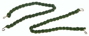 10 Pairs x British Army Style Green Elasticated Combat Trouser Twists Leg Ties