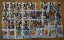LEGO Nexo Chevaliers™ TRADING CARD Jeu TOUS 36 spéciale FLEURET cartes