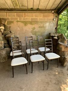 Niels Koefoed 'Lis' Set of 6 Dining Chairs Danish Vintage Retro Mid Century Teak