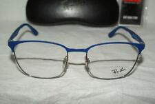 Brand New Authentic Ray-Ban RB 6356 Color 2876 Silver/Blue Size 52-18mm & Case!