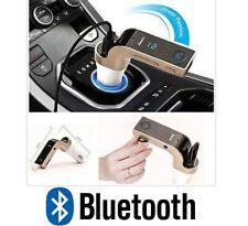 TRANSMISOR FM BLUETOOTH COCHE MP3 CARGADOR MECHERO USB LCD