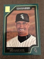 2001 Topps Jerry Manuel Chicago White Sox 327