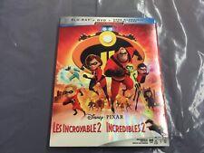 DISNEY INCREDIBLES 2    ( BLU-RAY + DVD + DIGITAL CODE  ) BRAND NEW SEALED