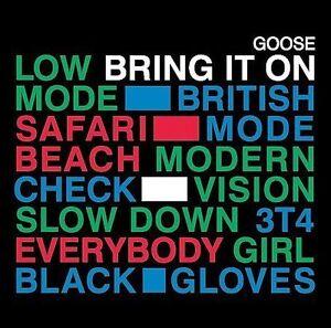 GOOSE - BRING IT ON (2006) CD +LTD BONUS DISC 12 INSTRUMENTALS CD RARE