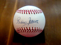 PEDRO RAMOS YANKEES SENATORS PITCHER SIGNED AUTO OML BASEBALL JSA AUTHENTIC