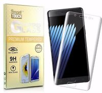 Galaxy NOTE 7 FE FULL COVERAGE Premium Tempered Glass Screen Protector CLEAR