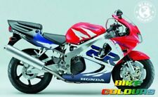 HONDA TOUCH UP PAINT KIT CBR900RR 1999 SPARKLING RED ANDES BLUE ROSS WHITE NH1