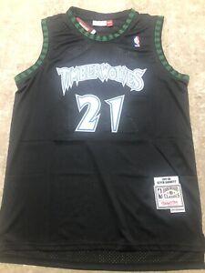 Minnesota Timberwolves #21 Kevin Garnett Men's XL NBA Jersey