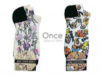Primark Ladies DISNEY Cartoon TRAINER LINER Socks ONE SIZE (4-8 UK 37-42 EU)