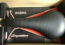 NEW OLD STOCK BROOKS COMPETITION SADDLE,BLACK,STILL IN ORIGINAL BOX