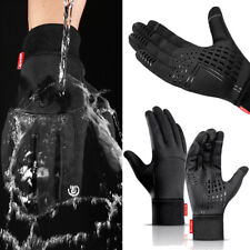 Men's Waterproof Warm Windproof Gloves Sport Touch Screen Cycling Skiing Gloves