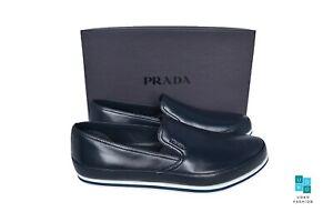 New in Box Authentic PRADA Mens Shoes Sz US13 EU46 UK12 Model 4D3224
