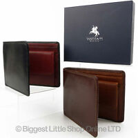 Top Quality Mens Leather Wallet Torino Collection by Visconti Gift Boxed Stylish