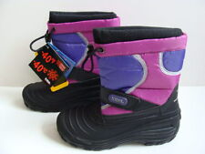 NEW Girls TOTES Snow Boots Winter Size 5 Thinsulate Waterproof Pink Purple Lined