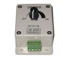 LED Light Dimmer Brightness Adjustable Control 12V 8A