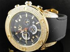 Mens Techno Com KC Joe Rodeo Master WWBY Genuine Full Diamond Watch 3.0 Ct