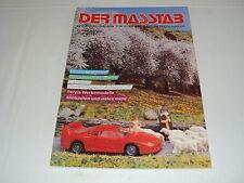 W/2/13/2 Modell Modellauto Katalog Prospekt Der Masstab Das Modellmagazin 1989