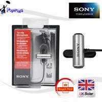 Genuine SONY ECM-CS3 Condenser Microphone ECM CS3 Business Microphone Tie-clip