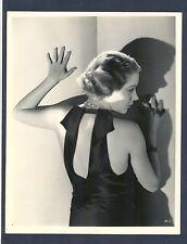 GLAMOROUS RUTH WESTON - NEAR MINT 1931 EROTIC PHOTO BY ROBERT COBURN