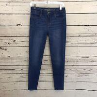 American eagle Jeans AEO Womens 4 Hi Rise Jeggings Jeans Leggings Light Wash G46
