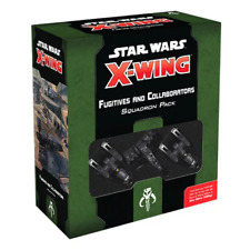 Star Wars X-wing 2nd Edition Fugitives and Collaborators Squadron Pack