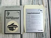 Sergei Rachmaninoff Keyboard Immortal Series 8 Track Tape Superscope