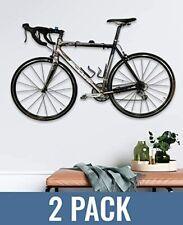 StoreYourBoard 2 Pack Naked Bike Wall Display Mount-Indoor Home Garage Apartment