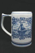 Ceramic Beer Mug Heineken Delft Blue 't Delftsche Huys Holland 1Pint